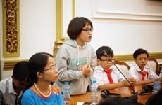 Paroles d'enfants à Hô Chi Minh-Ville
