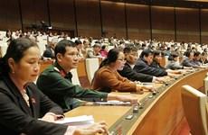 L'Assemblée nationale adopte deux lois et une résolution