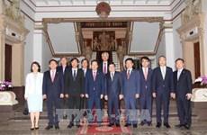 Le président du Parti de la liberté de Corée à Ho Chi Minh-Ville