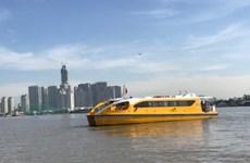 Hô Chi Minh-Ville : la première ligne de bateaux-bus entre en service