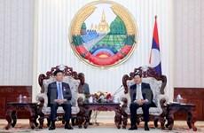 Développement de la coopération judiciaire Vietnam-Laos