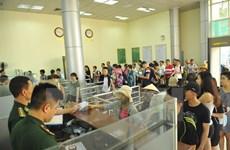 Record du nombre de visiteurs à la frontière entre Dongxing et Mong Cai