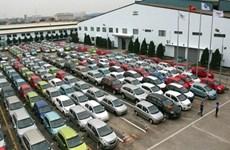 Recul des importations d'automobiles en onze mois