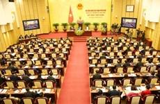 Le Conseil populaire de Hanoi adopte plusieurs questions importantes de la ville