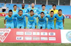 Football : coup d'envoi du tournoi Toyota Mekong Club Championship