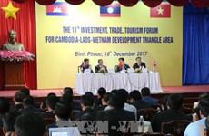Forum économique Cambodge-Laos-Vietnam à Binh Phuoc