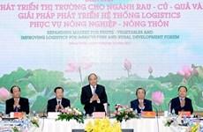 Le PM au forum sur les débouchés des fruits et légumes à Dông Thap
