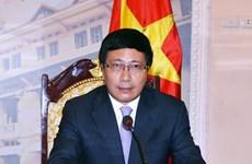 Le vice-Premier ministre Pham Binh Minh en visite officielle en République de Corée