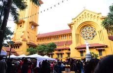 Les églises de Hanoï à la saison de Noël