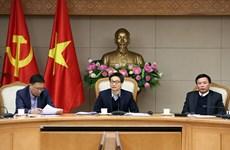 Réunion du conseil chargé de l'élaboration de l'encyclopédie du Vietnam