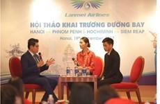 Ouverture de deux nouvelles lignes aériennes Phnom Penh-Hanoï et Siem Reap-Hô Chi Minh-Ville