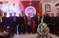 Nguyen Thi Kim Ngan adresse ses vœux de Noël aux catholiques de Thanh Hoa