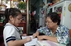 Une classe gratuite pour les enfants défavorisés de Hô Chi Minh- Ville