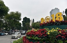 Les Hanoïens fêtent le Réveillon du Nouvel An 2018