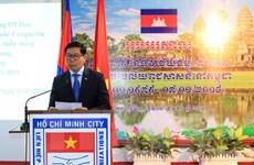 Commémoration de la victoire sur le régime génocidaire de Pol Pot à HCM-Ville