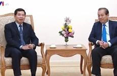 Le vice-PM Truong Hoa Binh salue la coopération judiciaire entre le Vietnam et le Laos