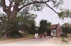La porte du village, un symbole de la culture vietnamienne