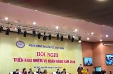 Le Premier ministre Nguyên Xuân Phuc à une conférence de la banque d'Etat