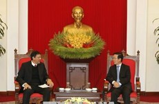 Promotion de la coopération entre le Parti communiste du Vietnam et le Parti communiste cubain