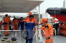 Réception de deux pêcheurs vietnamiens, victimes du naufrage du navire malaisien PAF 4583