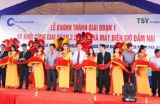 Ninh Thuan : mise en chantier de la 2e phase du parc éolien Dam Nai