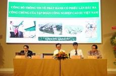 Introduction en bourse du Groupe vietnamien du caoutchouc
