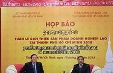 Semaine des produits lao à Hô Chi Minh-Ville