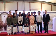 Les finalistes du concours de création de logo sur les relations France-Vietnam à l'honneur