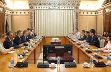 Ho Chi Minh-Ville et la France renforcent la coopération dans plusieurs domaines
