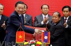 Vietnam - Laos: coopération efficace entre les deux ministères de la Sécurité publique