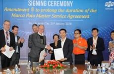 Signature d'un contrat de 100 millions de dollars dans le secteur des TI
