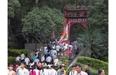 Quatre provinces participent à la fête des Rois Hùng 2018