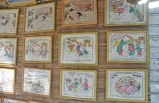 Les estampes populaires du Têt du village de Sinh, à Huê