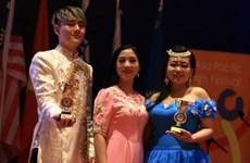 Le Vietnam remporte les prix d'or au Festival artistique d'Asie-Pacifique
