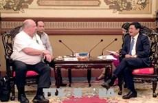 Ho Chi Minh-Ville reçoit d'anciens combattants américains