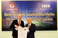 La FIFA continue de favoriser le développement du football au Vietnam