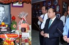 Le PM rend hommage aux anciens dirigeants du gouvernement et de l'État