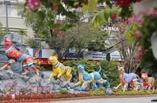Activités culturelles en l'honneur du Têt dans le pays