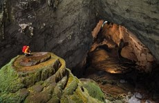 Quang Binh: lancement d'un nouveau circuit de découverte de la grotte Son Doong