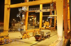 Têt : les ports de Hai Phong accueille de nombreux navires de charge