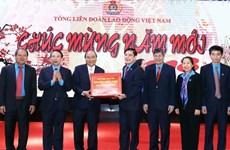 Le PM demande de continuer à construire des organisations syndicales en faveur des travailleurs