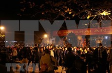 Des dizaines de milliers de visiteurs à la fête de l'ouverture des sceaux du temple Tran