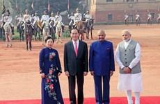 Visite d'Etat du président Tran Dai Quang en Inde