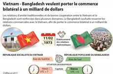 Vietnam-Bangladesh veulent porter le commerce bilatéral à un milliard de dollars