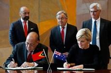 L'Australie et le Timor-Leste signent un traité sur les frontières maritimes