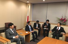 Le vice-ministre des Affaires étrangères Bui Thanh Son en visite au Japon