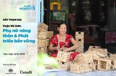 Lancement d'un concours de photos sur les femmes rurales et le développement durable