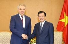 Renforcement de la coopération Vietnam-Russie
