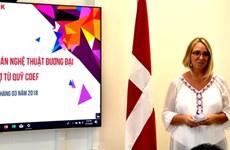 Dévoilement de huit projets artistiques financés par le Danemark
