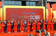 La Fête nationale de la presse 2018 s'ouvre à Hanoi